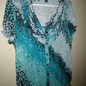 East 5th blouse Xl